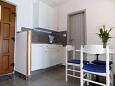 Mošćenice, Kitchen u smještaju tipa studio-apartment, dopusteni kucni ljubimci i WIFI.