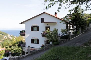 Property Mošćenička Draga (Opatija) - Accommodation 7746 - Apartments and Rooms with pebble beach.
