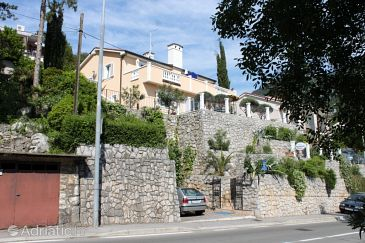 Property Medveja (Opatija) - Accommodation 7765 - Apartments near sea with pebble beach.