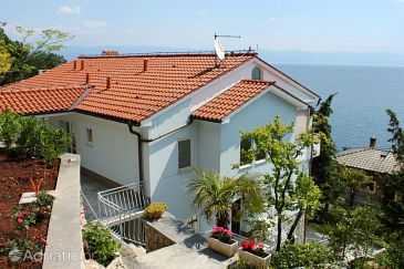 Property Mošćenička Draga (Opatija) - Accommodation 7766 - Apartments with pebble beach.