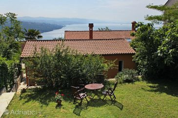 Property Opatija - Pobri (Opatija) - Accommodation 7779 - Vacation Rentals with pebble beach.