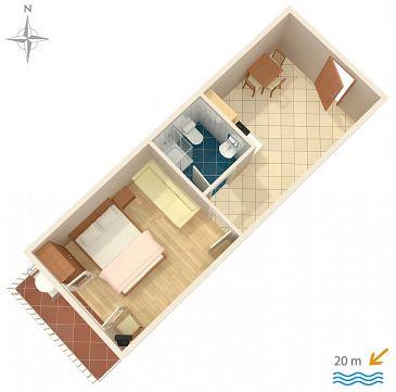 Apartament A-781-c - Apartamenty Stomorska (Šolta) - 781