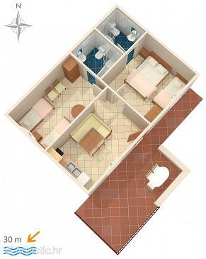 Apartment A-782-a - Apartments Stomorska (Šolta) - 782