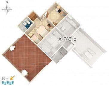 Apartament A-783-a - Apartamenty Stomorska (Šolta) - 783
