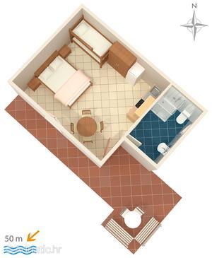 Studio flat AS-784-a - Apartments Stomorska (Šolta) - 784