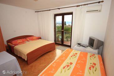 Opatija, Bedroom u smještaju tipa room, dostupna klima i WIFI.