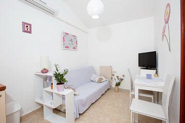 Opatija, Dining room u smještaju tipa apartment, dostupna klima i dopusteni kucni ljubimci.