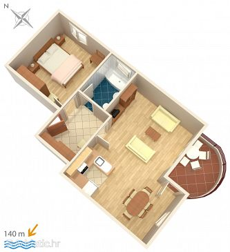 Apartment A-792-a - Apartments Betina (Murter) - 792