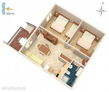 Apartment A-800-a - Apartments Murter (Murter) - 800