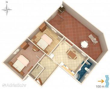 Apartment A-8050-a - Apartments Susak (Lošinj - Susak) - 8050