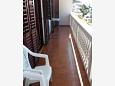Balcony - Apartment A-808-a - Apartments Tisno (Murter) - 808