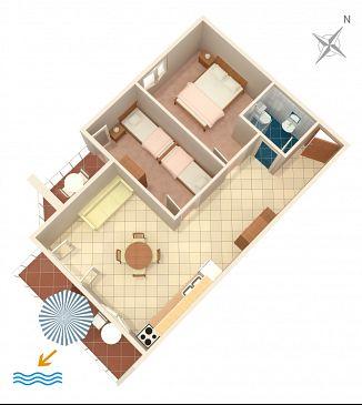 Apartament A-808-b - Apartamenty Tisno (Murter) - 808