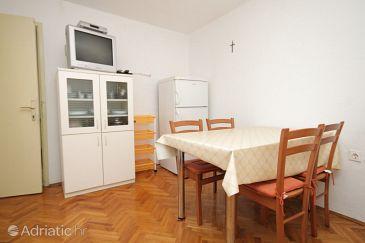 Verunić, Dining room u smještaju tipa apartment, dopusteni kucni ljubimci.