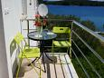 Shared balcony - Apartment A-8182-a - Apartments Luka (Dugi otok) - 8182