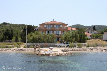 Property Banj (Pašman) - Accommodation 8206 - Apartments near sea with pebble beach.