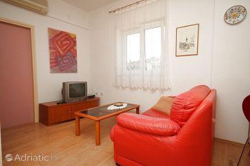 Preko, Living room u smještaju tipa apartment, dostupna klima, dopusteni kucni ljubimci i WIFI.