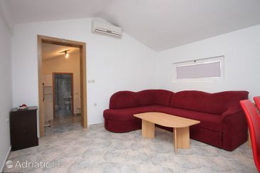 Preko, Living room u smještaju tipa apartment, dostupna klima i WIFI.