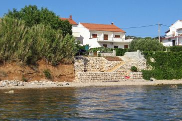 Tkon, Pašman, Property 825 - Apartments blizu mora with pebble beach.