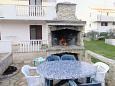 Courtyard Dobropoljana (Pašman) - Accommodation 8275 - Apartments with pebble beach.