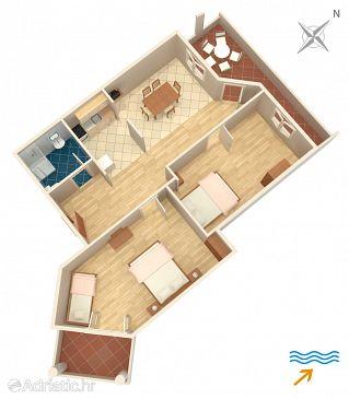 Apartment A-8312-b - Apartments Dobropoljana (Pašman) - 8312