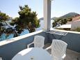 Pasadur, Terrace u smještaju tipa apartment, s pogledom na more, dopusteni kucni ljubimci i WIFI.