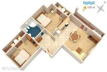 Apartment A-834-a - Apartments Kali (Ugljan) - 834