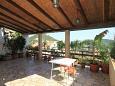 Lastovo, Lastovo, Courtyard 8350 - Rooms with pebble beach.