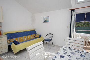Pasadur, Living room u smještaju tipa apartment, dopusteni kucni ljubimci i WIFI.