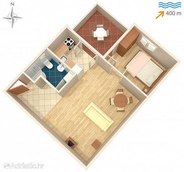 Apartment A-8424-a - Apartments Ždrelac (Pašman) - 8424