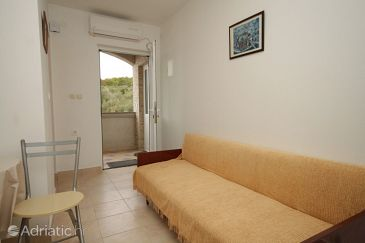 Mala Lamjana, Living room u smještaju tipa apartment, dostupna klima, dopusteni kucni ljubimci i WIFI.