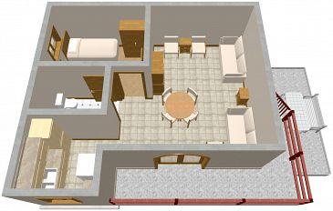 Apartment A-849-b - Apartments Sveti Petar (Biograd) - 849