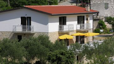 Property Drage (Biograd) - Accommodation 851 - Apartments near sea with pebble beach.