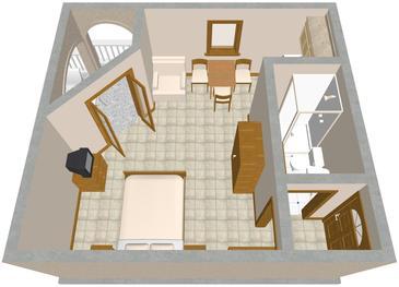 Studio flat AS-854-d - Apartments Drage (Biograd) - 854