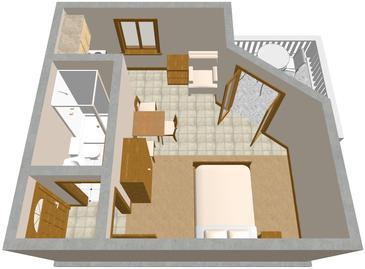 Studio AS-854-e - Apartamenty Drage (Biograd) - 854