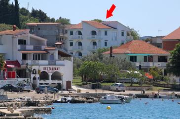 Property Drage (Biograd) - Accommodation 854 - Apartments near sea with pebble beach.