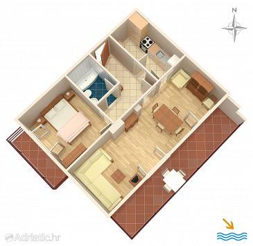Apartment A-8550-a - Apartments Molunat (Dubrovnik) - 8550