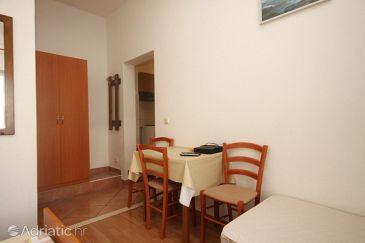 Cavtat, Dining room u smještaju tipa studio-apartment, dopusteni kucni ljubimci i WIFI.