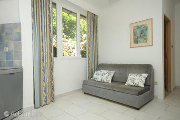 Molunat, Living room u smještaju tipa apartment, WIFI.