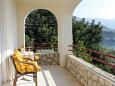 Terrace - Studio flat AS-8586-a - Apartments Mlini (Dubrovnik) - 8586