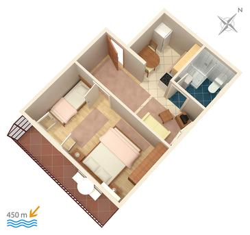 Apartament A-860-b - Apartamenty Biograd na Moru (Biograd) - 860