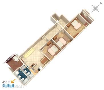 Apartment A-860-d - Apartments Biograd na Moru (Biograd) - 860
