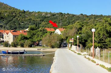 Slano, Dubrovnik, Property 8608 - Apartments blizu mora with pebble beach.