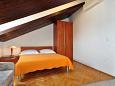 Podstrana, Bedroom u smještaju tipa studio-apartment, dostupna klima i dopusteni kucni ljubimci.