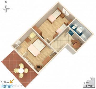 House K-8645 - Vacation Rentals Okrug Gornji (Čiovo) - 8645