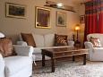 Okrug Gornji, Living room u smještaju tipa house, dopusteni kucni ljubimci i WIFI.