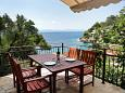Terrace - Studio flat AS-8653-b - Apartments Uvala Torac (Hvar) - 8653