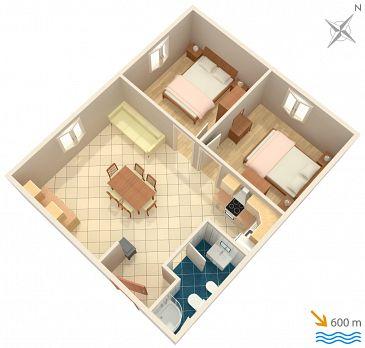 Apartament A-867-a - Apartamenty Punta križa (Cres) - 867