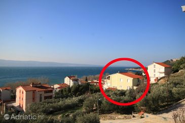 Property Duće (Omiš) - Accommodation 8680 - Apartments near sea with sandy beach.