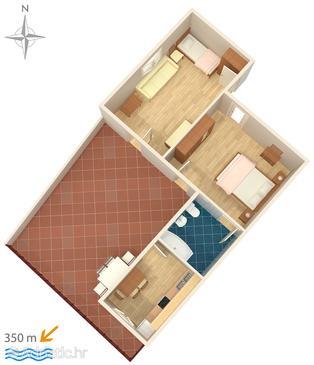 Apartment A-8701-a - Apartments Makarska (Makarska) - 8701