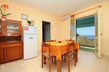 Zavala, Dining room u smještaju tipa apartment, dostupna klima, dopusteni kucni ljubimci i WIFI.